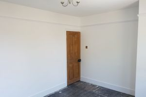Victorian Panelled 2nd Bedroom Completed - Ready for Carpeting