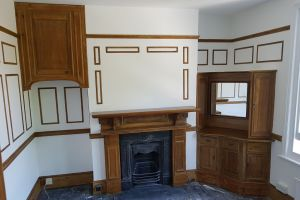 Victorian Panelled Bedroom Completed - Ready for Carpeting