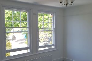 Completed - Sash windows also restored - Now ready for new carpets