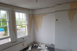 Bedroom within a Victorian Property - During