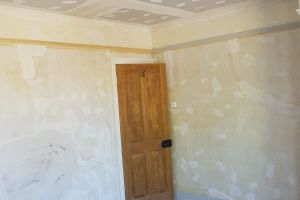 Preparation of the Walls and Ceiling to create a perfect finish