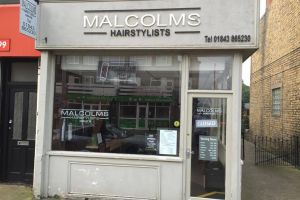 Malcolms Before Shop Front
